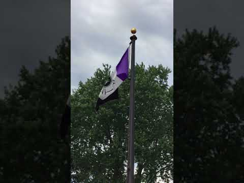 Firefighter Memorial Flag New York State Fairgrounds From Syracuse Nationals 2018 #5