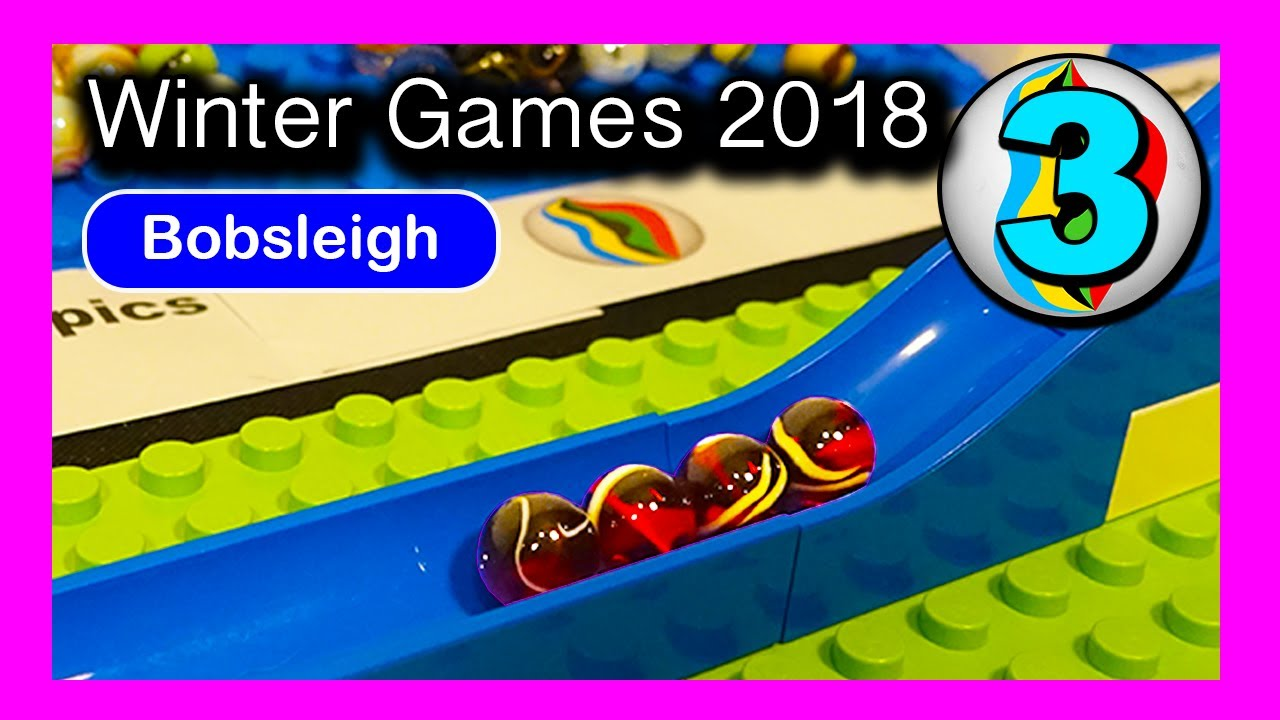MARBLE RACE - Marble Winter Games 2018 - [Event 3 - Bobsleigh]