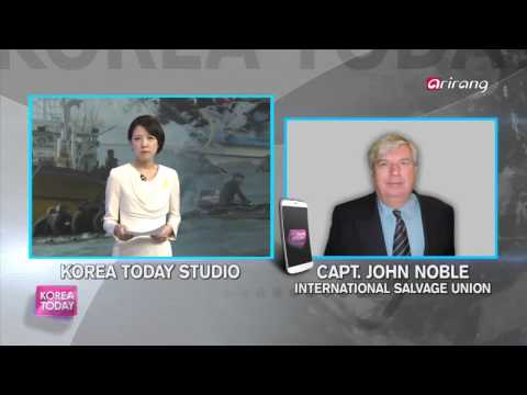 captain john noble on preparation for a salvag of the sewol