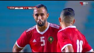 ملخص مباراة تونس والمغرب 0-1 الودية