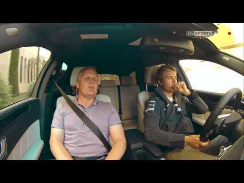 Lewis Hamilton and Nico Rosberg jet skiing in Monaco (Sky Sports F1)