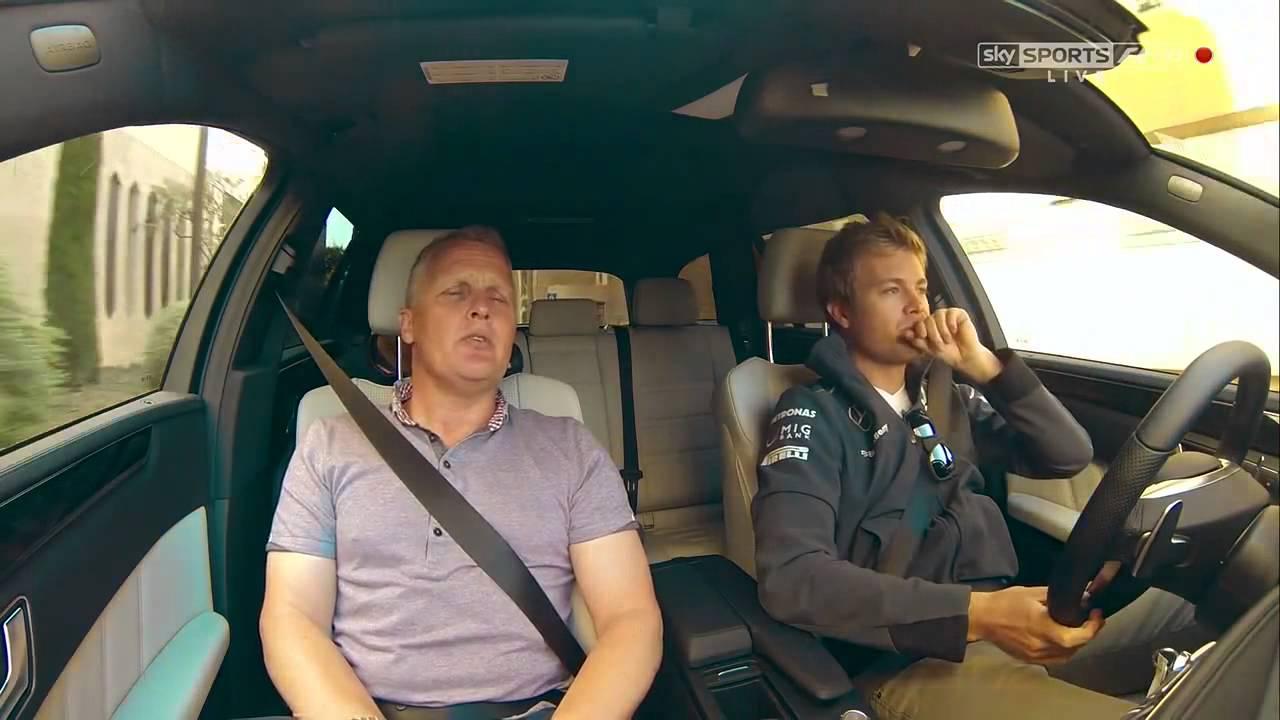 Lewis Hamilton And Nico Rosberg Jet Skiing In Monaco Sky Sports F1  YouTube