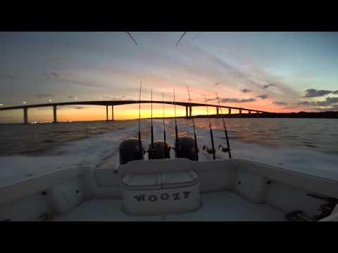 Bluefin Tuna Fishing on a 42 Yellowfin