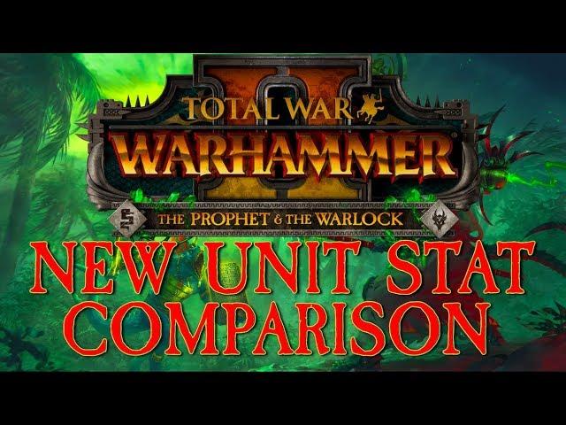 New DLC Unit Stat Comparison (The Prophet & The Warlock)
