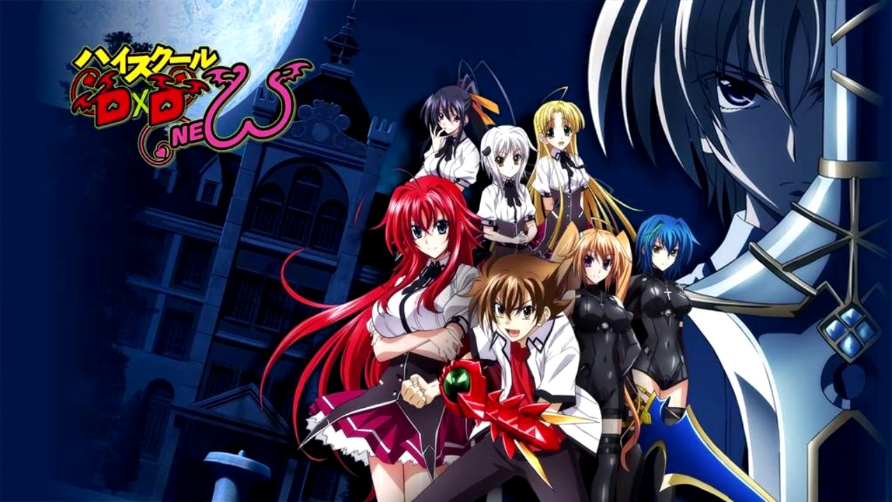High School Dxd Op Opening 1 2 3 4 Full Song English And Japanese Lyrics Youtube