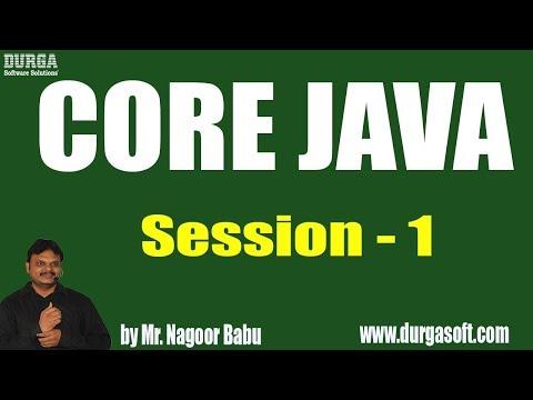 core-java-programming-tutorials-||-session---1-||-by-mr.-nagoor-babu-on-16-05-2019-at-10am