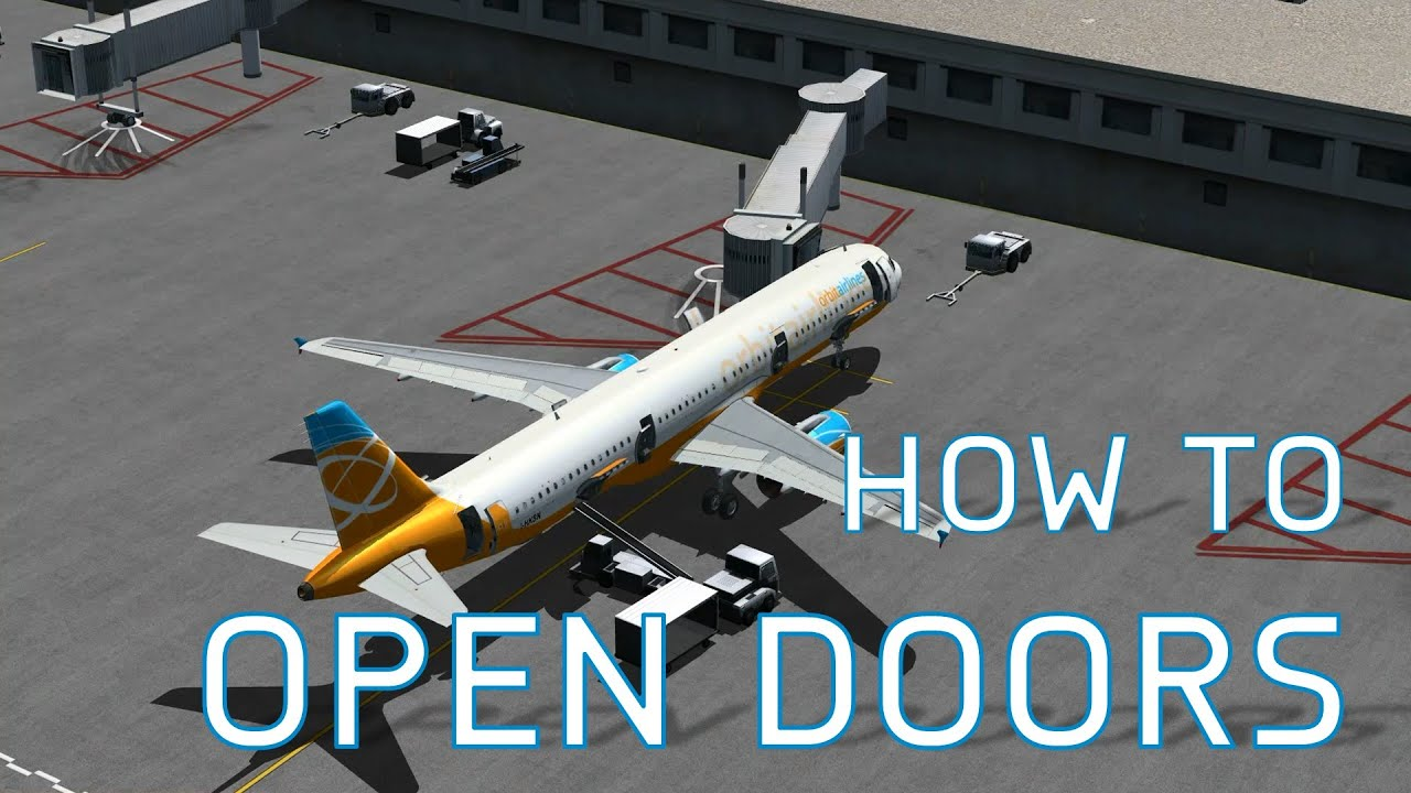 FSX How to Open Doors Cargo Doors + Jetways Pushbacks Luggage R&s u0026 More - YouTube & FSX How to Open Doors Cargo Doors + Jetways Pushbacks Luggage ...