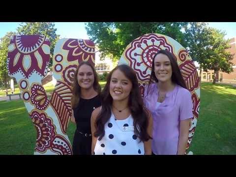 Greek Discovery Day East Central University Ada, Oklahoma 2017