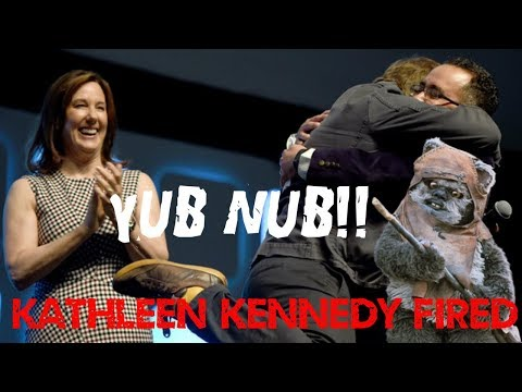 KATHLEEN KENNEDY FIRED - BUT OFFICIAL WORD IS SHE HAS STAR WARS FATIGUE