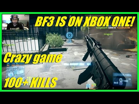Battlefield 3 - BF3 IS BACKWARDS COMPATIBLE! | INTENSE GAME! (100+ KILLS)