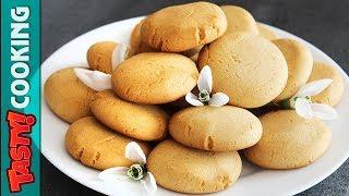 Eggless Honey Cookies Recipe 🍪 Tasty Cooking