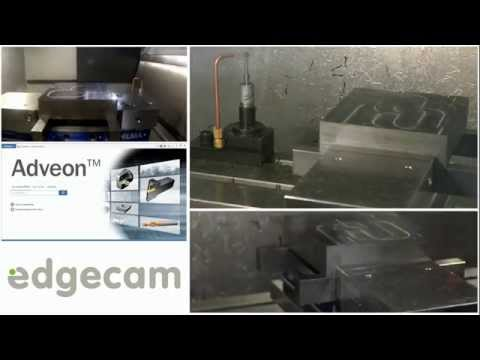 Edgecam Waveform at Sandvik Coromant UK Open House
