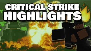 CRAZY CRITICAL STRIKE HIGHLIGHTS 2 | ROBLOX