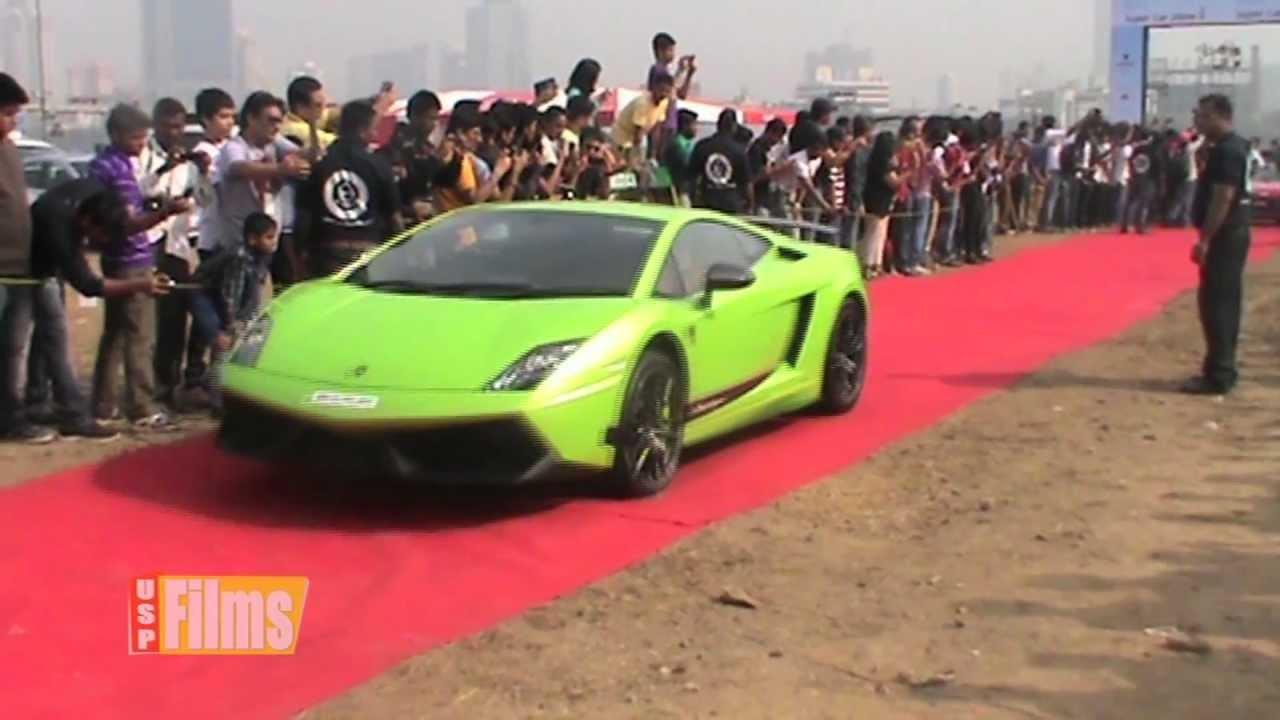 Super Car Show Mumbai Youtube