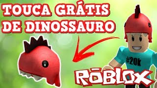FREE DINOSAUR TOUCA IN ROBLOX (PLAYFUL RED DINO)