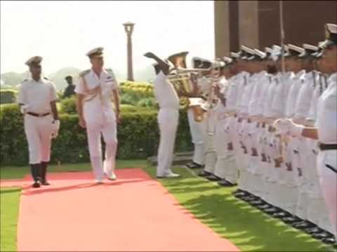 Royal Navy Chief in New Delhi to strengthen bilateral ties