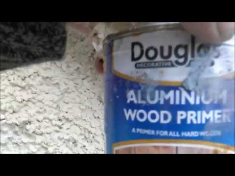Aluminium Wood Primer for bare timber, great for south facing areas
