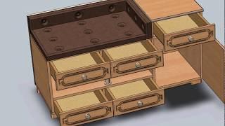 деревянная банкетка в прихожую своими руками чертежи
