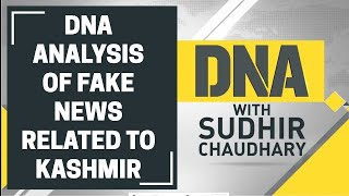 DNA analysis of fake news related to Kashmir after abrogation of Article 370