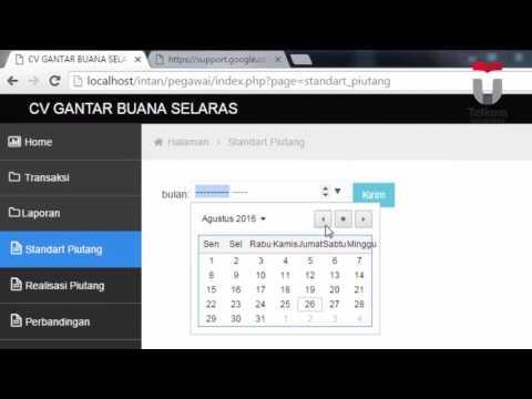Aplikasi Manajemen Piutang Untuk Menentukan Periode Pengumpulan Piutang Rata- Rata Berbasis Web