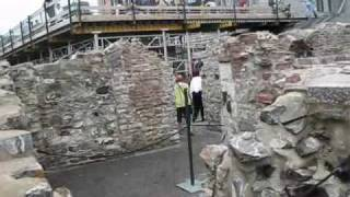 Archaeological Excavations In The Old City Of Quebec