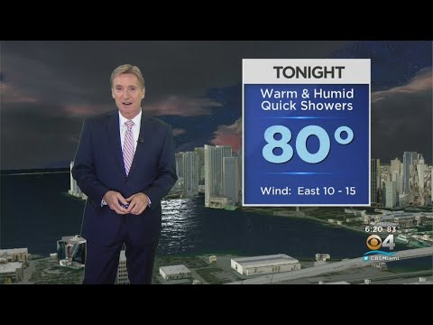 CBSMiami.com Weather @ Your Desk  8-20-19 6PM