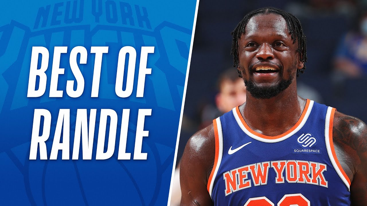 Knicks' Julius Randle named NBA's Most Improved Player for 2020 ...