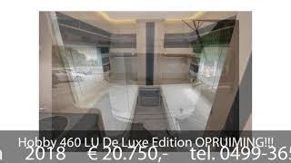 Hobby 460 LU De Luxe Edition OPRUIMING!!!