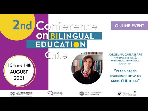 2nd Conference on Bilingual Education 2021 - Day 1 - Jorgelina Carlassare
