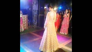 Brides Performance for her sangeet