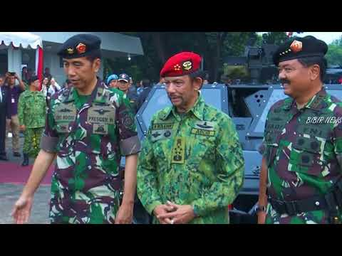 Sultan Brunei Terkejut Liat Senjata Yang di Pamerkan Jokowi