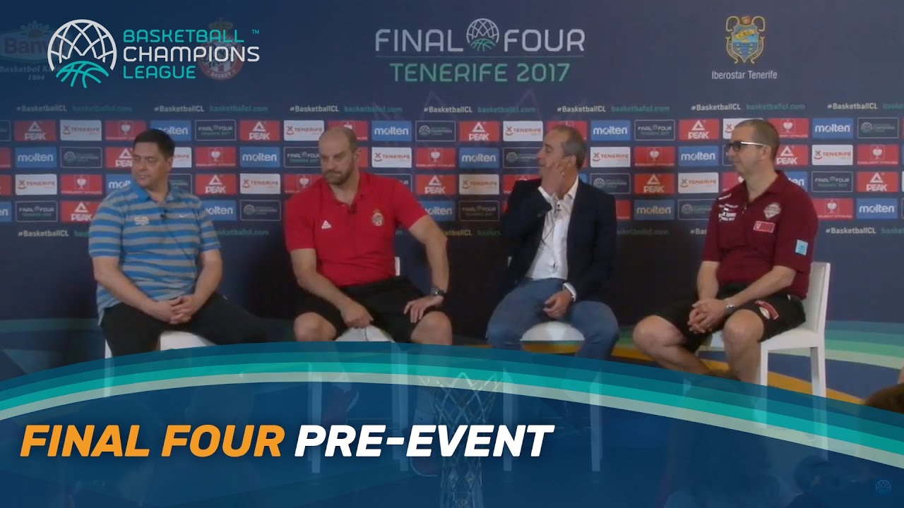 Final Four | Pre-Event - Press Conference | Live Stream