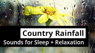 RAINFALL Sleep Sounds with Distant Thunder - RAIN for 5 HOURS