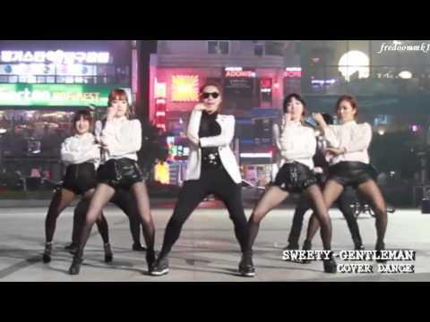 Psy   Gentleman Dance Cover By Sweety  Korean Dance Team )