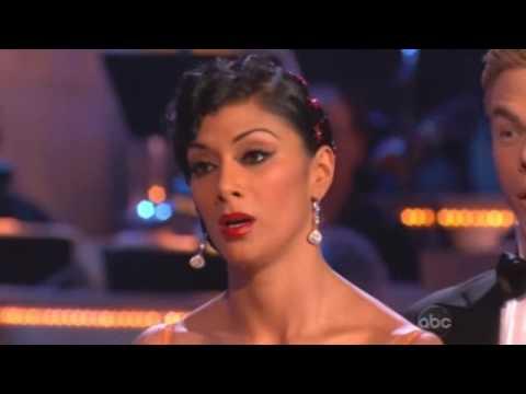 Nicole Scherzinger & Derek Hough - Dancing With The Stars - Tango week 5