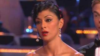 Nicole Scherzinger & Derek Hough - Dancing With The Stars - Tango week 5