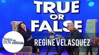 TWBA: True or False challenge with Regine Velasquez-Alcasid
