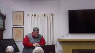 Lecture on Asa Redington's time in the Continental Army