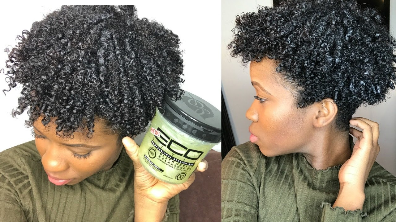 Flaxseed hair gel for natural hair