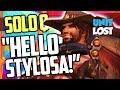 Overwatch -  Undercover In Comp! HELLO STYLOSA! [SOLO Q]