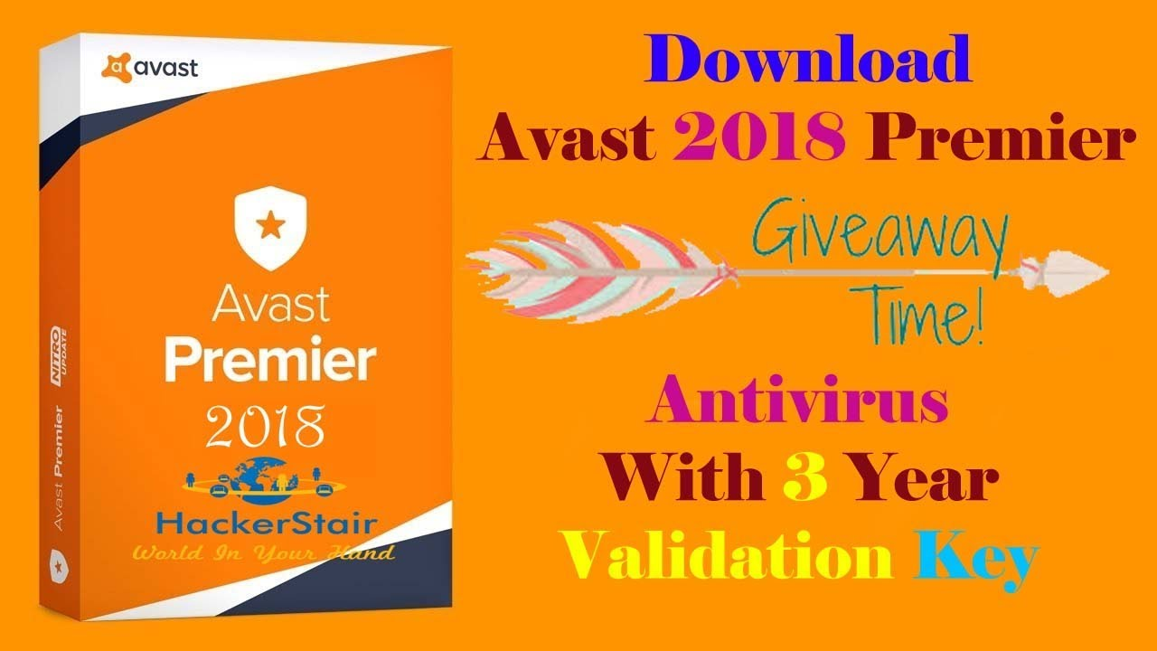 Download Avast Premier 2019 Antivirus Full Version With Validation Key Till 2027