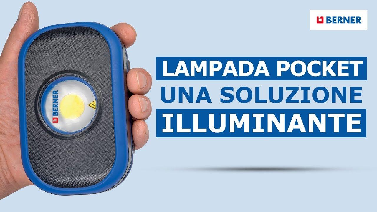 berner lampada led  Lampada da lavoro a led ricaricabile   Una soluzione illuminante ...
