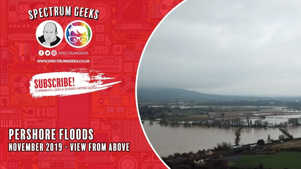 Download Pershore Floods November 2019 From the Air