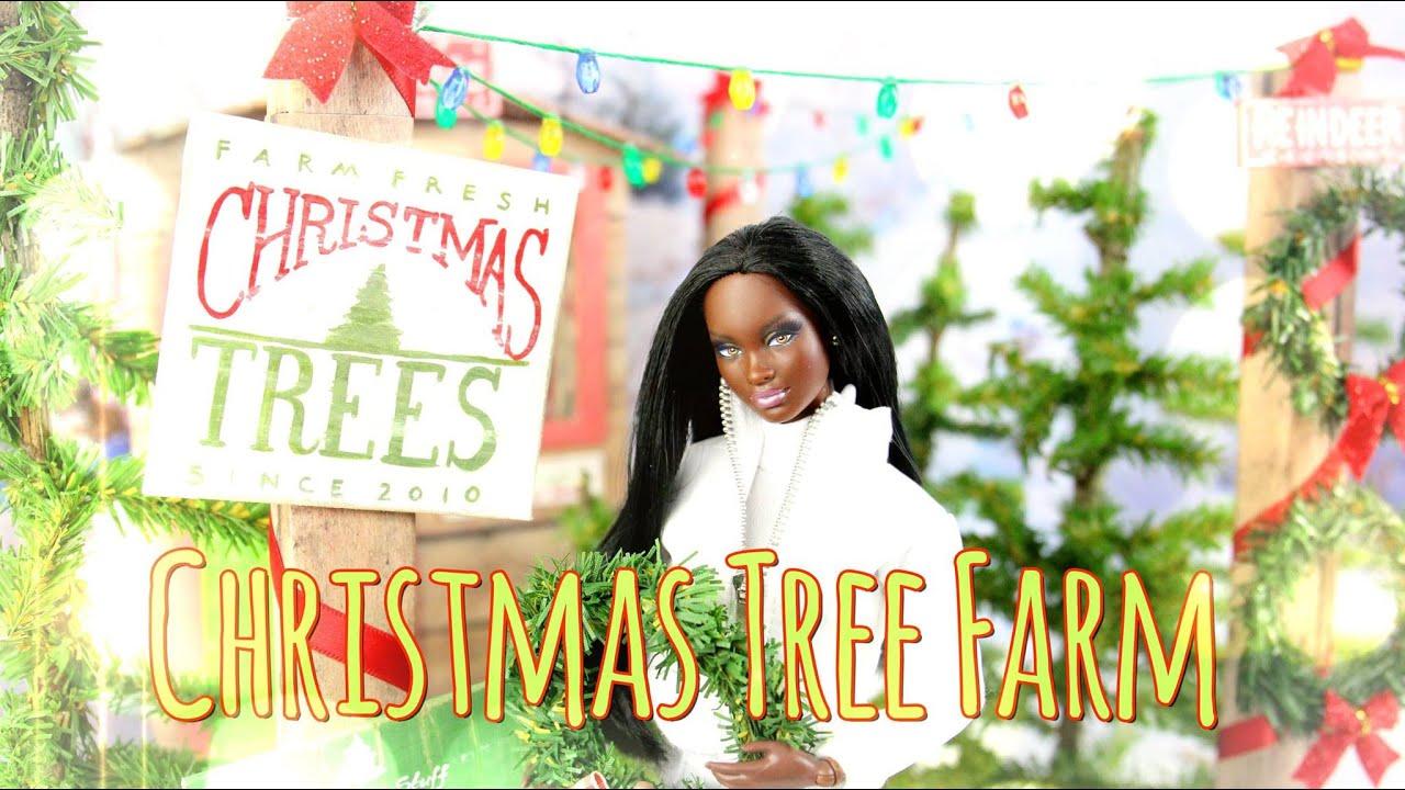 DIY - How to Make: Doll Christmas Tree Farm - Handmade - Crafts ...