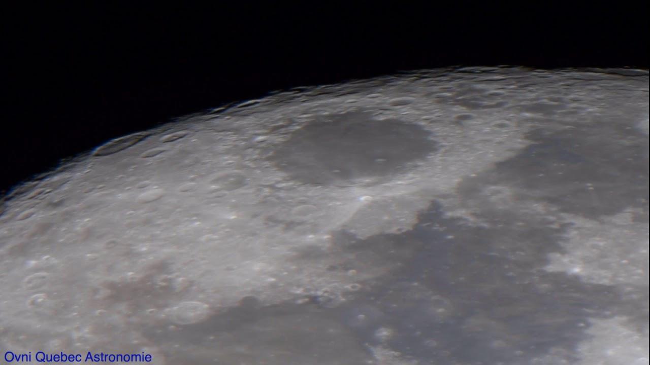 La Lune le 6 Juillet 2020 Telescope Magnification