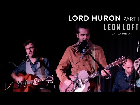 Lord Huron live at the Leon Loft