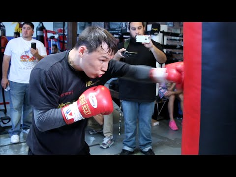 Ruslan Provodnikov COMPLETE Media Work out for his Provodnik
