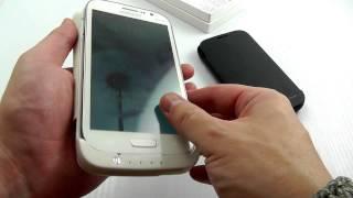 Чехол-Аккумулятор для Samsung Galaxy Grand Duos i9082 (3200mAh). ОБЗОР!