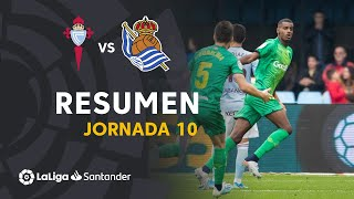 Resumen de RC Celta vs Real Sociedad (0-1)