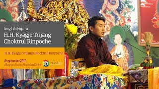 Visit of H.H. Kyabje Choktrul Trijang Rinpoche (English-Italian) – 8 September 2017